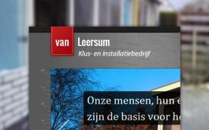 Branding Klus- en installatiebedrijf Van Leersum