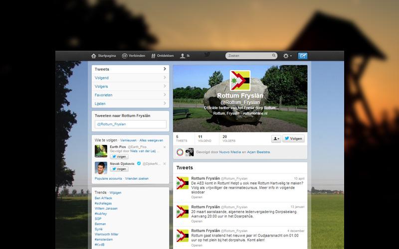 Rottum Online Twitter