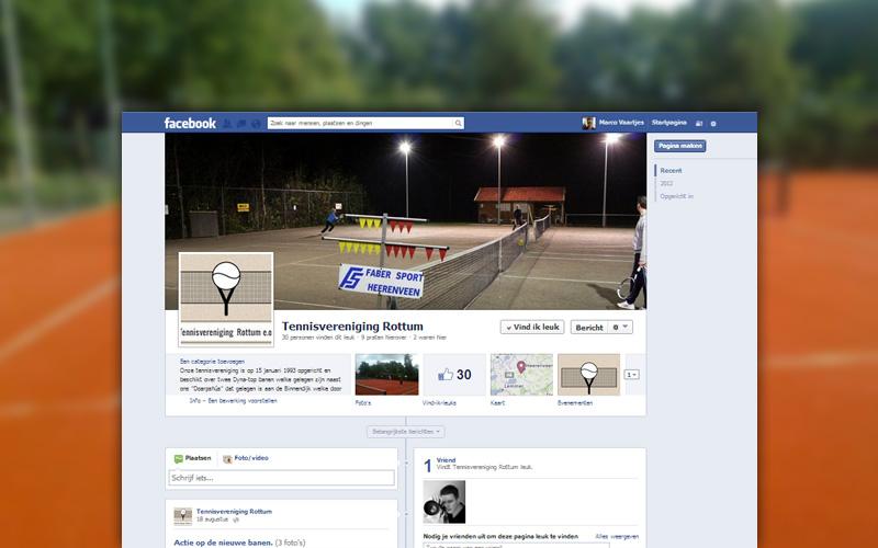 Tennisvereniging Rottum Facebook
