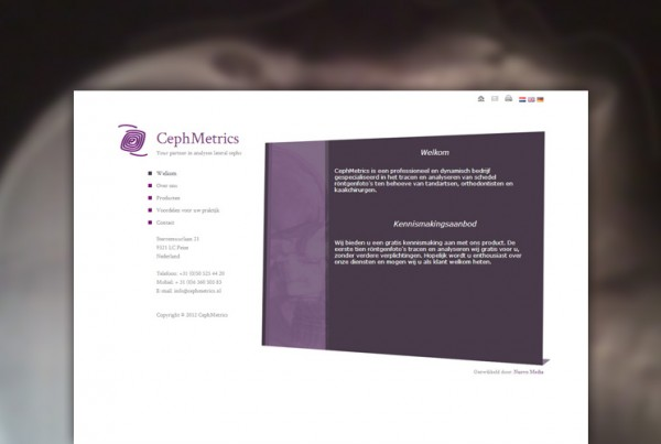 Cephmetrics website