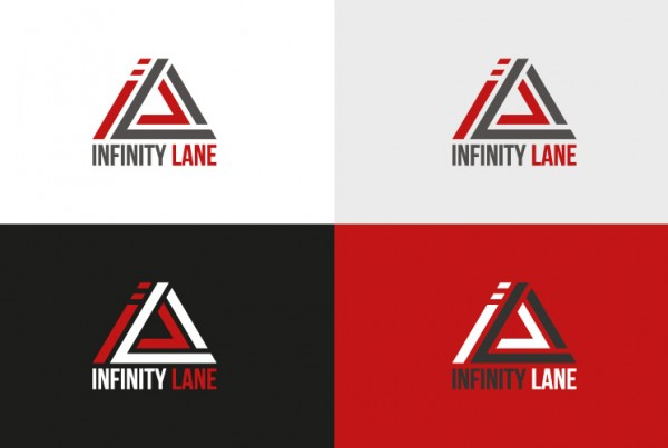 Infinity Lane logo variaties