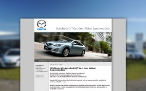 Mazda van den Akker website