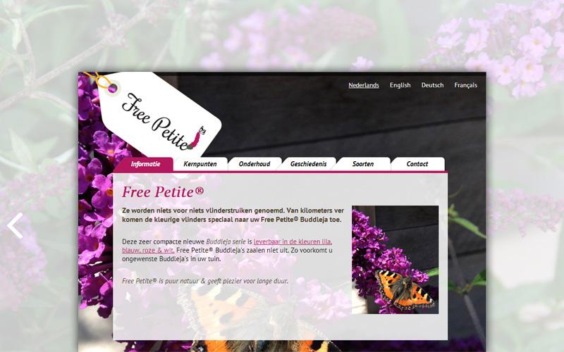 Free Petite website