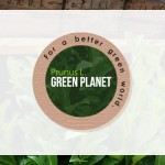 Prunus L. Green Planet logo