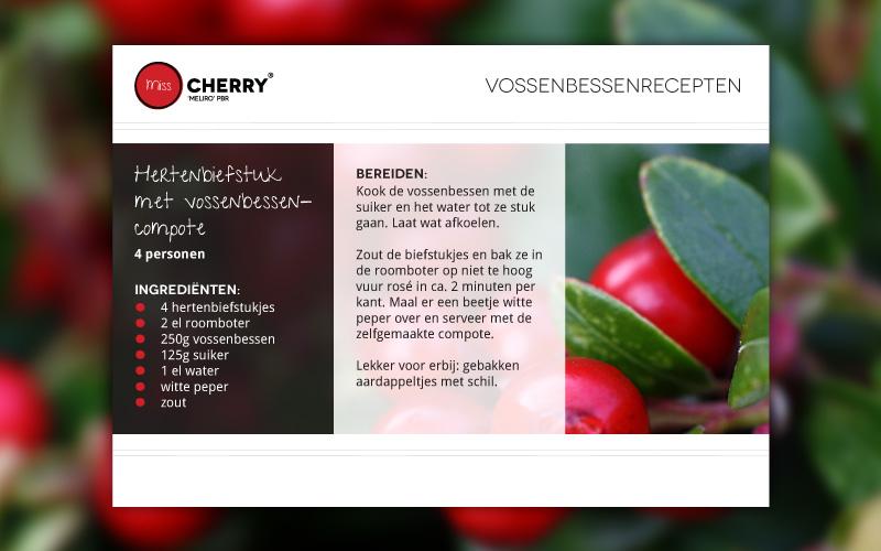 Miss Cherry Vossenbessen recepten
