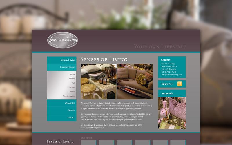 Senses of Living - website