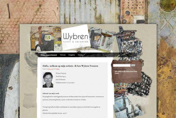 Wybren Keramiek - website