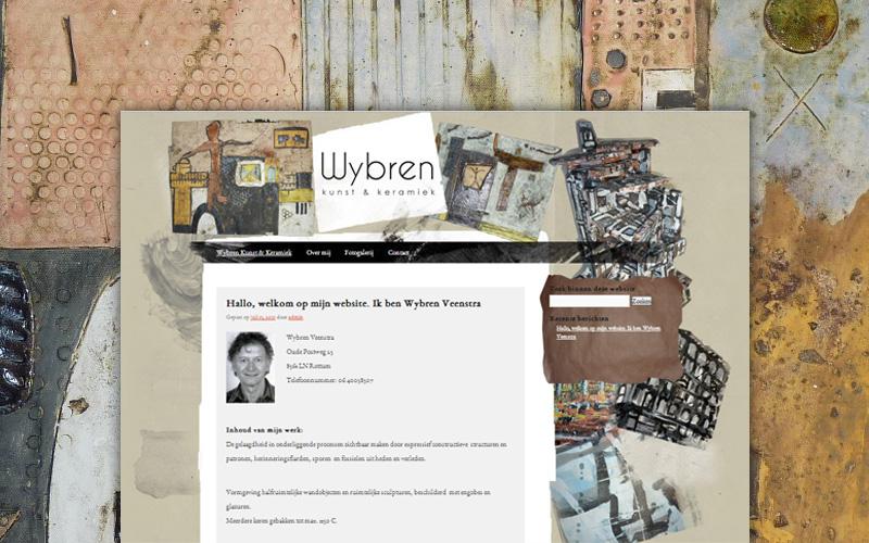 Wybren Keramiek - website